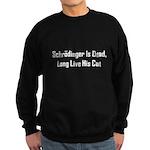Schrodinger Is Dead Sweatshirt (dark)