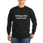 Schrodinger Is Dead Long Sleeve Dark T-Shirt
