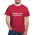 Schrodinger Is Dead Dark T-Shirt
