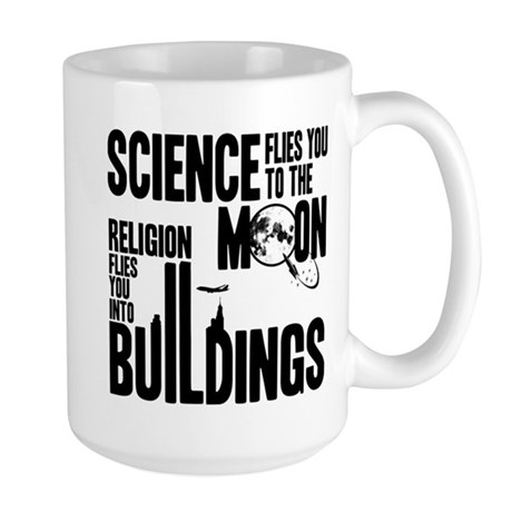 Science Vs. Religion Large Mug