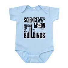 Science Vs. Religion Infant Bodysuit