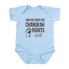 Chanukah Rights Infant Bodysuit