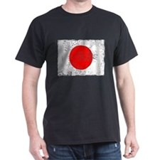 Vintage, Japanese Flag T-Shirt