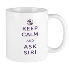 Keep Calm and Ask Siri Mug