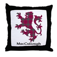 Lion - MacCullough Throw Pillow