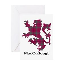 Lion - MacCullough Greeting Card