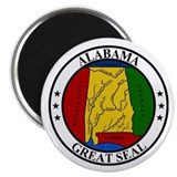 Seal of Alabama Magnet