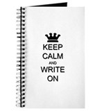 Keep Calm and Write On Journal