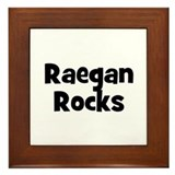 Raegan Rocks Framed Tile