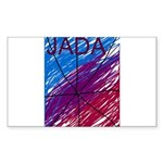 JADA STARR Sticker (Rectangle 50 pk)
