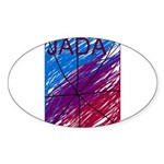 JADA STARR Sticker (Oval 50 pk)