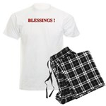 BLESSINGS Men's Light Pajamas