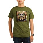 DA MAN Organic Men's T-Shirt (dark)