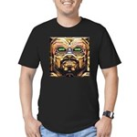 DA MAN Men's Fitted T-Shirt (dark)