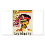 love JAH JAH Sticker (Rectangle 50 pk)