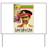 love JAH JAH Yard Sign