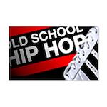 OLD SCHOOL 22x14 Wall Peel