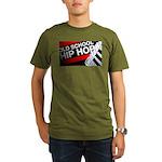 OLD SCHOOL Organic Men's T-Shirt (dark)
