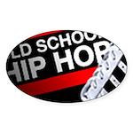 OLD SCHOOL Sticker (Oval 10 pk)