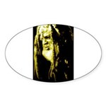 JAH WISE Sticker (Oval 10 pk)