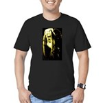JAH WISE Men's Fitted T-Shirt (dark)