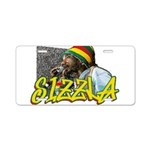 SIZZLA Aluminum License Plate