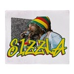 SIZZLA Throw Blanket