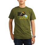 SIZZLA Organic Men's T-Shirt (dark)