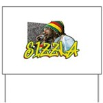 SIZZLA Yard Sign