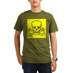 SKULL UP Organic Men's T-Shirt (dark)