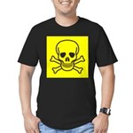 SKULL UP Men's Fitted T-Shirt (dark)