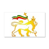 KING OF KINGZ LION Car Magnet 20 x 12