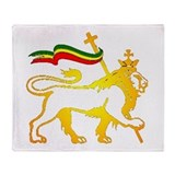 KING OF KINGZ LION Throw Blanket