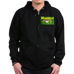 THE GREEN MONKEY BRING DAT B Zip Hoodie (dark)