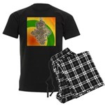 JAH LOVE Men's Dark Pajamas
