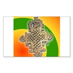 JAH LOVE Sticker (Rectangle 10 pk)
