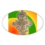 JAH LOVE Sticker (Oval 50 pk)