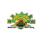 ROOTS ROCK REGGAE 38.5 x 24.5 Wall Peel