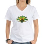 ROOTS ROCK REGGAE Women's V-Neck T-Shirt