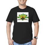 ROOTS ROCK REGGAE Men's Fitted T-Shirt (dark)