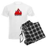 BURN BABYLON Men's Light Pajamas