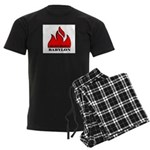 BURN BABYLON Men's Dark Pajamas