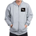 ghost ride the whip Zip Hoodie