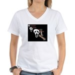 ghost ride the whip Women's V-Neck T-Shirt