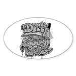 DIRTY SOUTH Sticker (Oval 10 pk)
