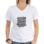 DIRTY SOUTH Women's V-Neck T-Shirt