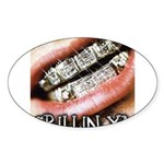 DIRTY SOUTH Sticker (Oval 50 pk)