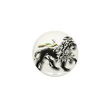 Funny Lion judah Mini Button (10 pack)