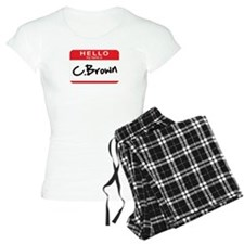 C.Brown Pajamas