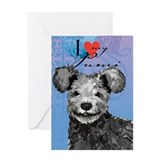 Pumi Greeting Card